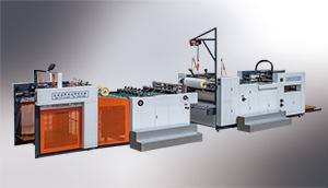 YFM 系列(国内型) 全自动高速预涂膜覆膜机