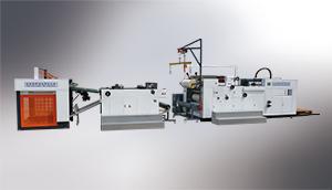 SYFM 系列 全自动高速水性预涂两用覆膜机